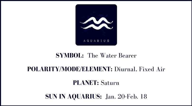 Beyond The Horoscope Aquarius The Water Bearer Astrology Hub