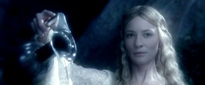 Galadriel, Queen of the Elves in Lord of the Rings, captures the essence of the Moon.
