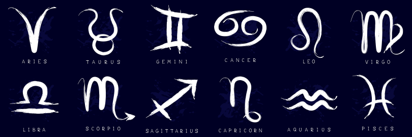 All 12 zodiac signs
