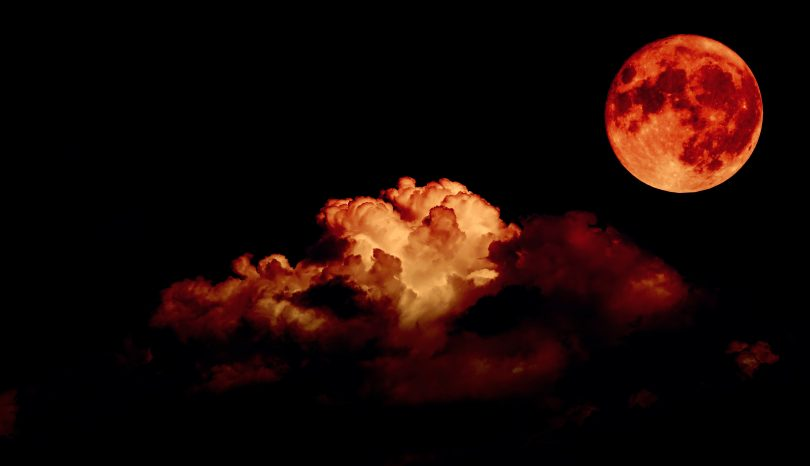 blood moon eclipse leo - photo #1